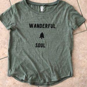 Alternative Apparel Wanderful Soul organic T-shirt